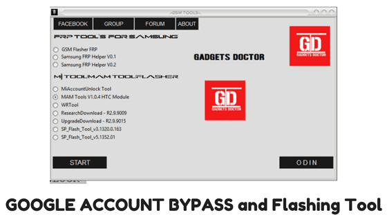 GOOGLE ACCOUNT BYPASS and Flashing Tool