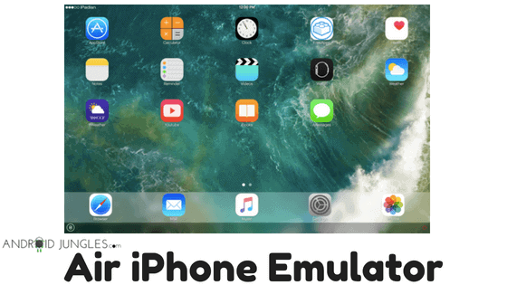 Download Air iPhone Emulator for Windows PC (1)