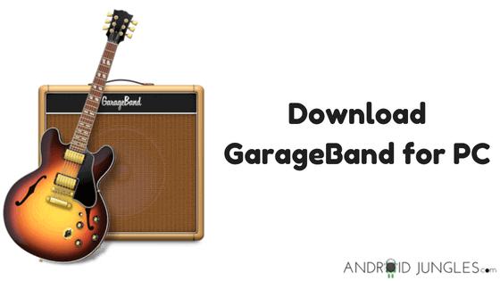 Download GarageBand for PC