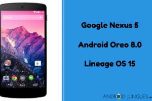 How to Update Google Nexus 5 to Android Oreo Via Lineage OS 15 (hammerhead)