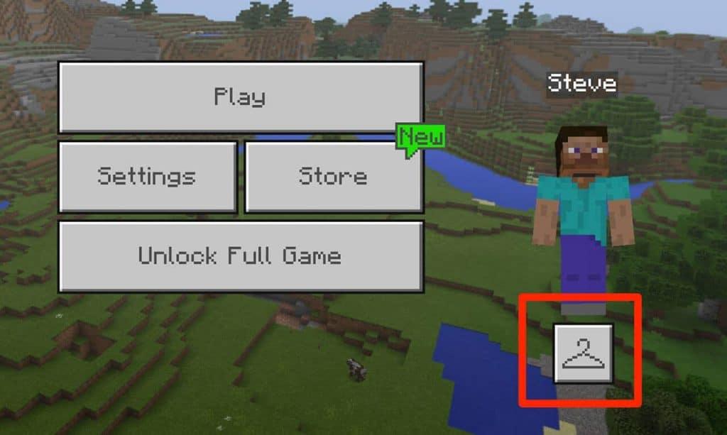 change a Minecraft skin
