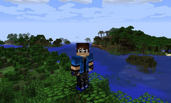 How to change a Minecraft skin