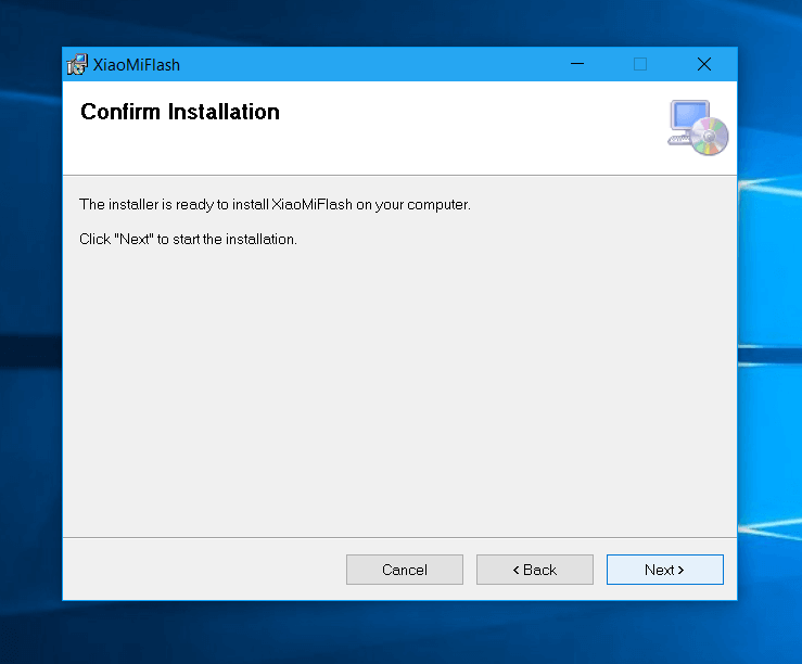 Download Mi Flash Tool and Installation - Step 2