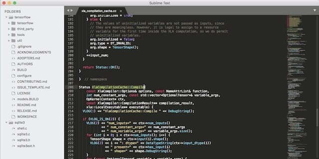 Sublime Text 3 for MacOS