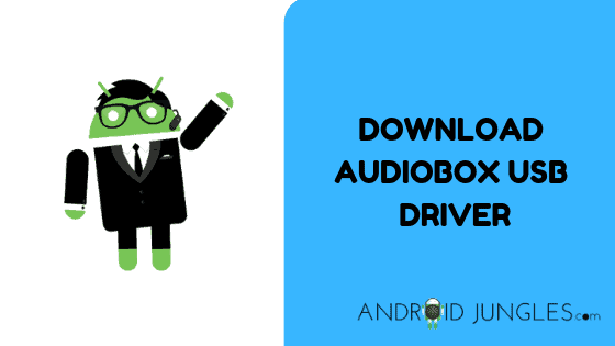 DOWNLOAD Audiobox USB Driver