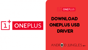 DOWNLOAD Oneplus USB DRIVER