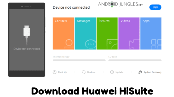 Download Huawei HiSuite For Windows PC And MacOS | Android
