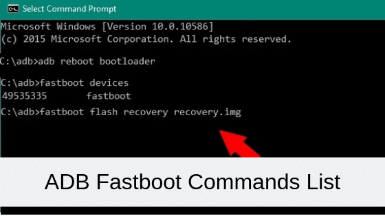 ADB Fastboot Commands