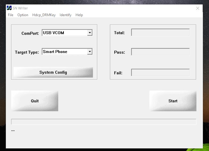 Latest SN Write Tool