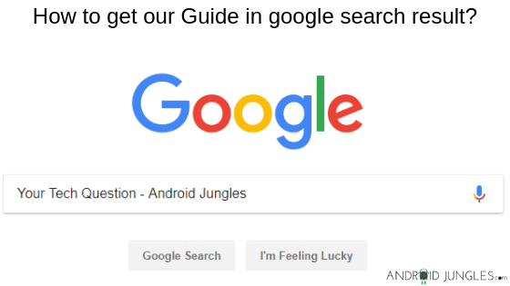 How to get our Article in google search result-Android Jungles