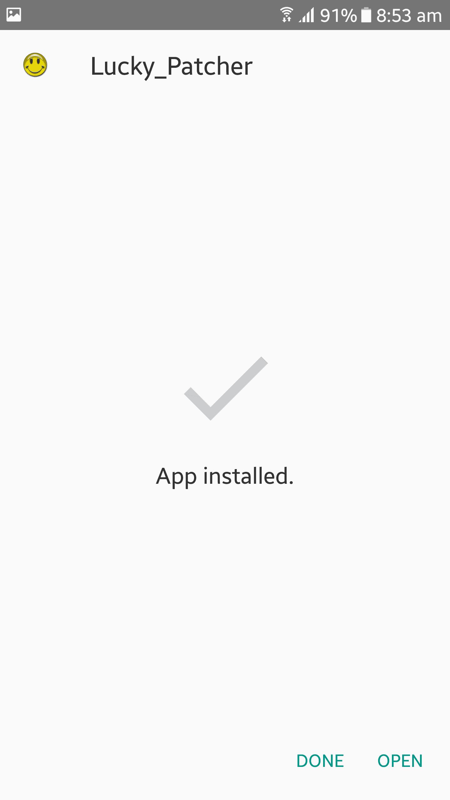Install Lucky Patcher App