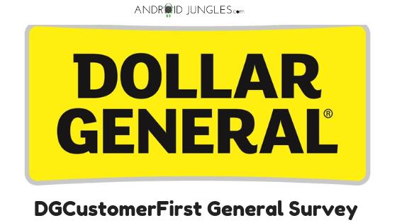 DGCustomerFirst General Survey