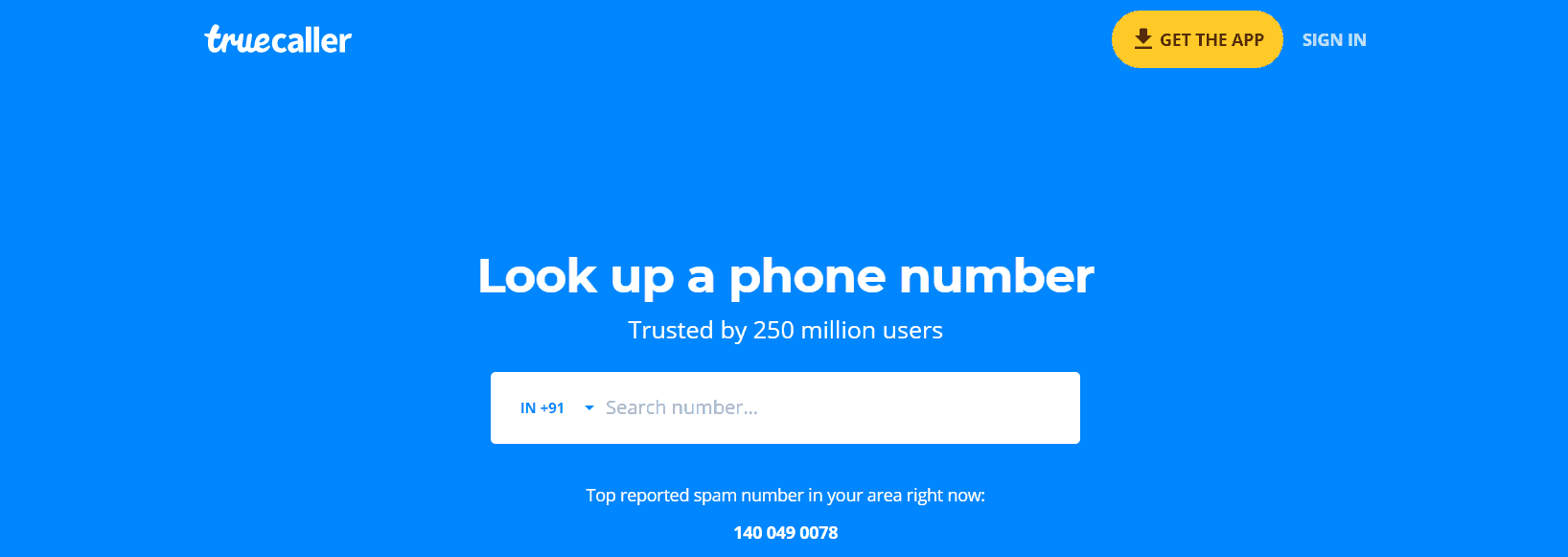 How to Find Details of Unknown Numbers using True Caller