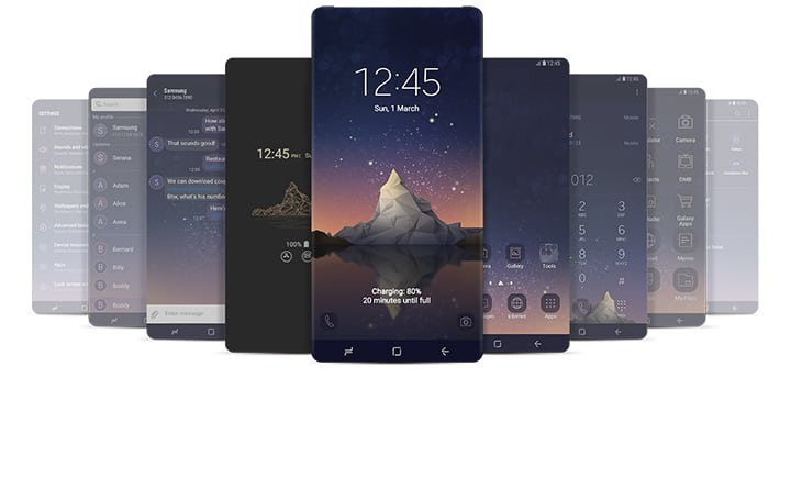 Download Best Free Samsung Themes for 2019 for Android 9 Pie
