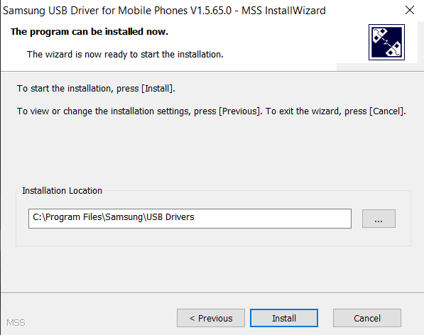 Download Samsung USB Driver and Installation step-4