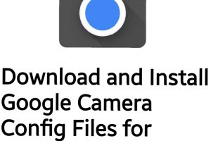 Google camera config files