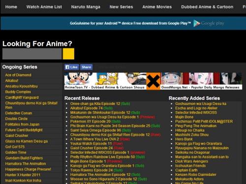 gogoanime : Anime Streaming Websites