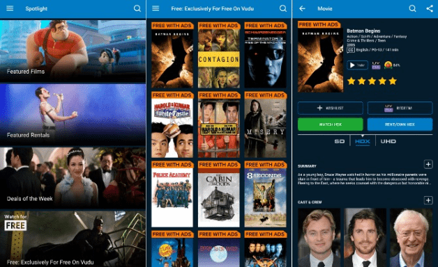 best free movies apps