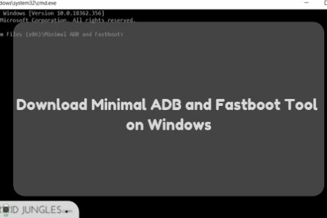 Download Minimal ADB and Fastboot Tool on Windows
