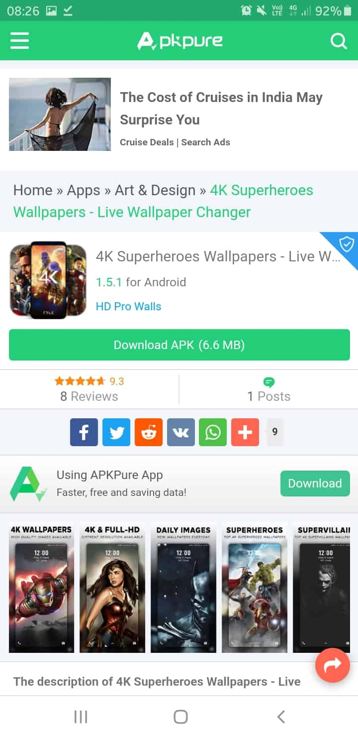 Top 5 coolest Wallpaper Apps for Android