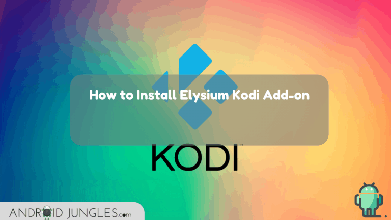 How to Install Elysium Kodi Add-on