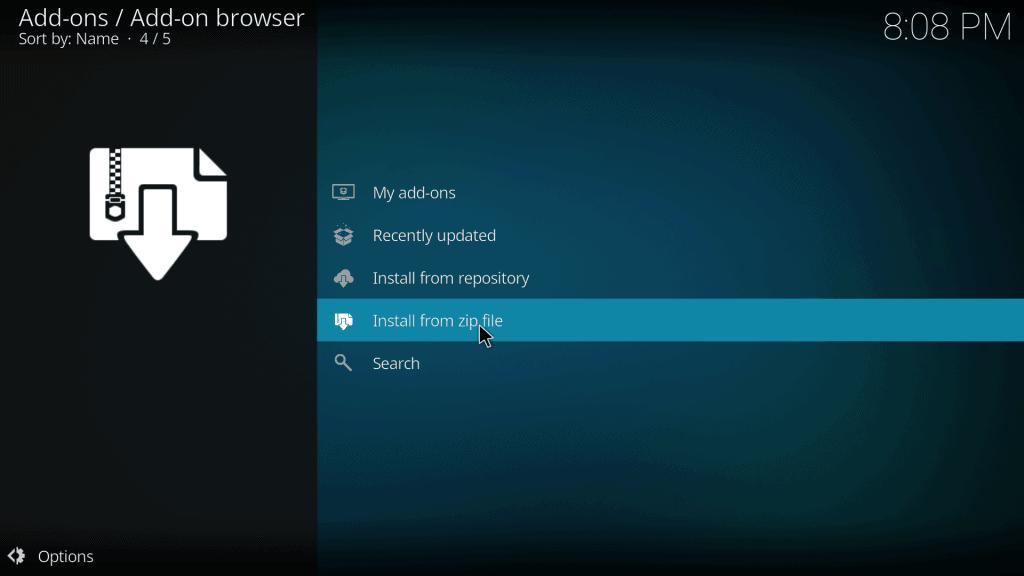 How to Install Elysium Kodi Add-on