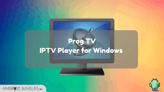 IPTV Player for Windows PC