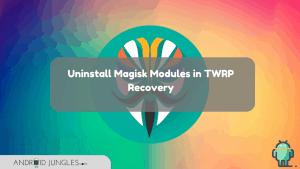 Uninstall Magisk Modules