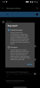How to Capture OTA Update URL using Take Bug Report