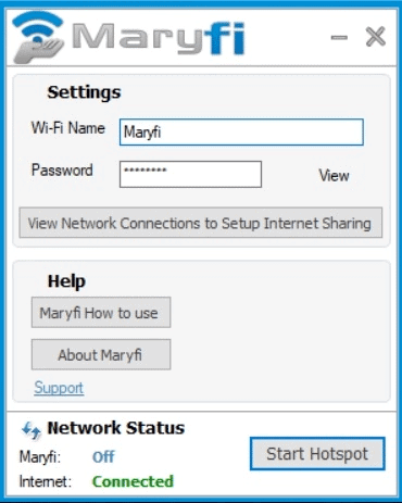 alternatives of Connectify-Maryfi