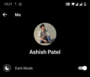 Dark-facebook-messenger-app-for-android