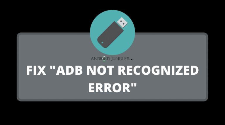 """Fix """"adb not recognized error"""""""