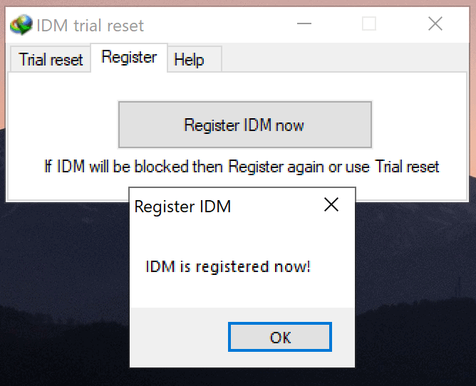 IDM-is-Registered-Now