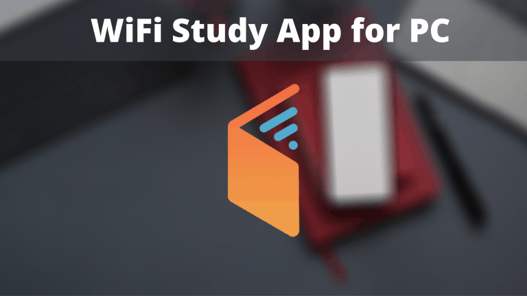 Download and install WiFi Study App for PC