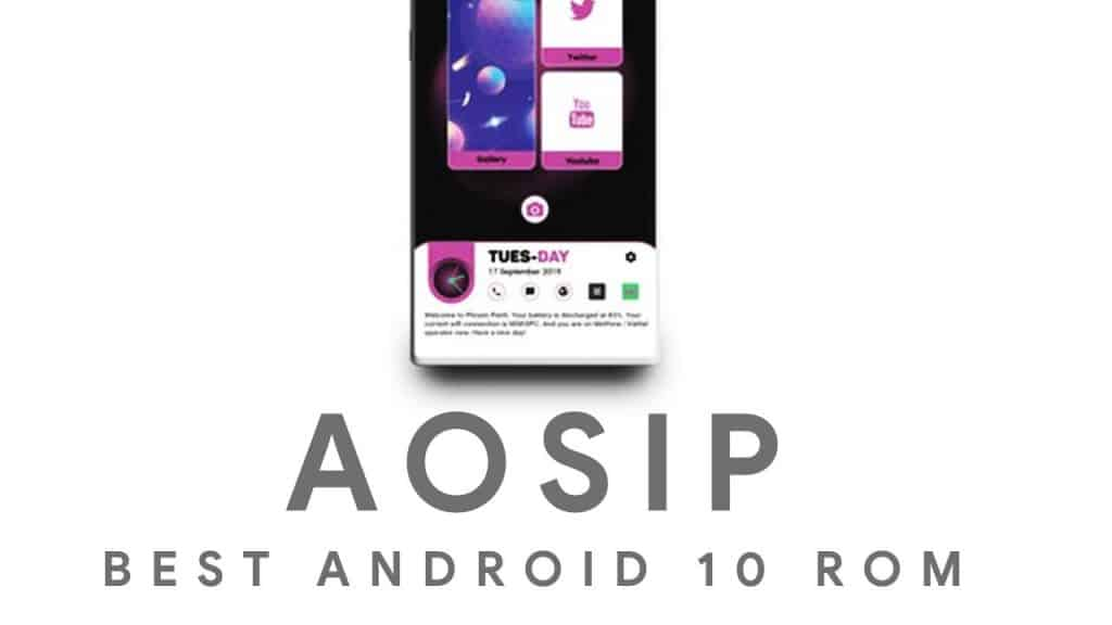 AOSiP ROM for OnePlus 7 Pro download