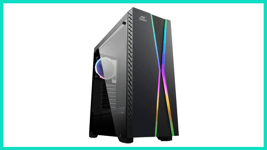 Ant Esports ICE-200TG Mid Tower Gaming Cabinet