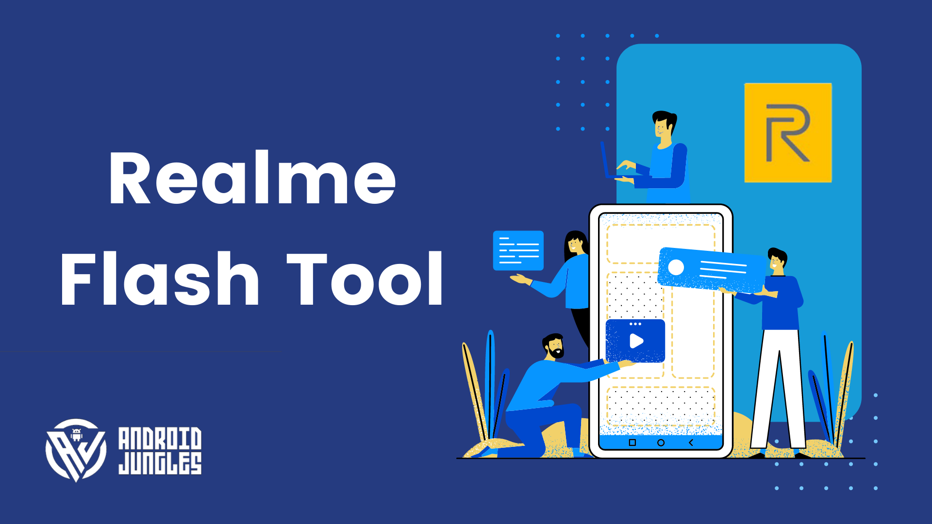 Realme Flash Tool Download; How to Flash Stock Firmware on Realme