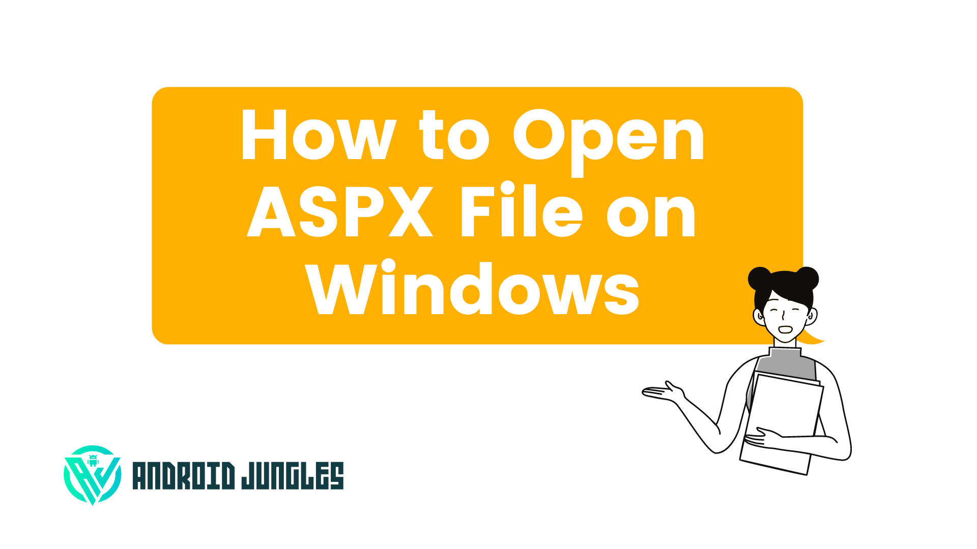 How to Open ASPX File on Windows