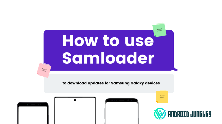 How to use Samloader to download updates for Samsung Galaxy devices