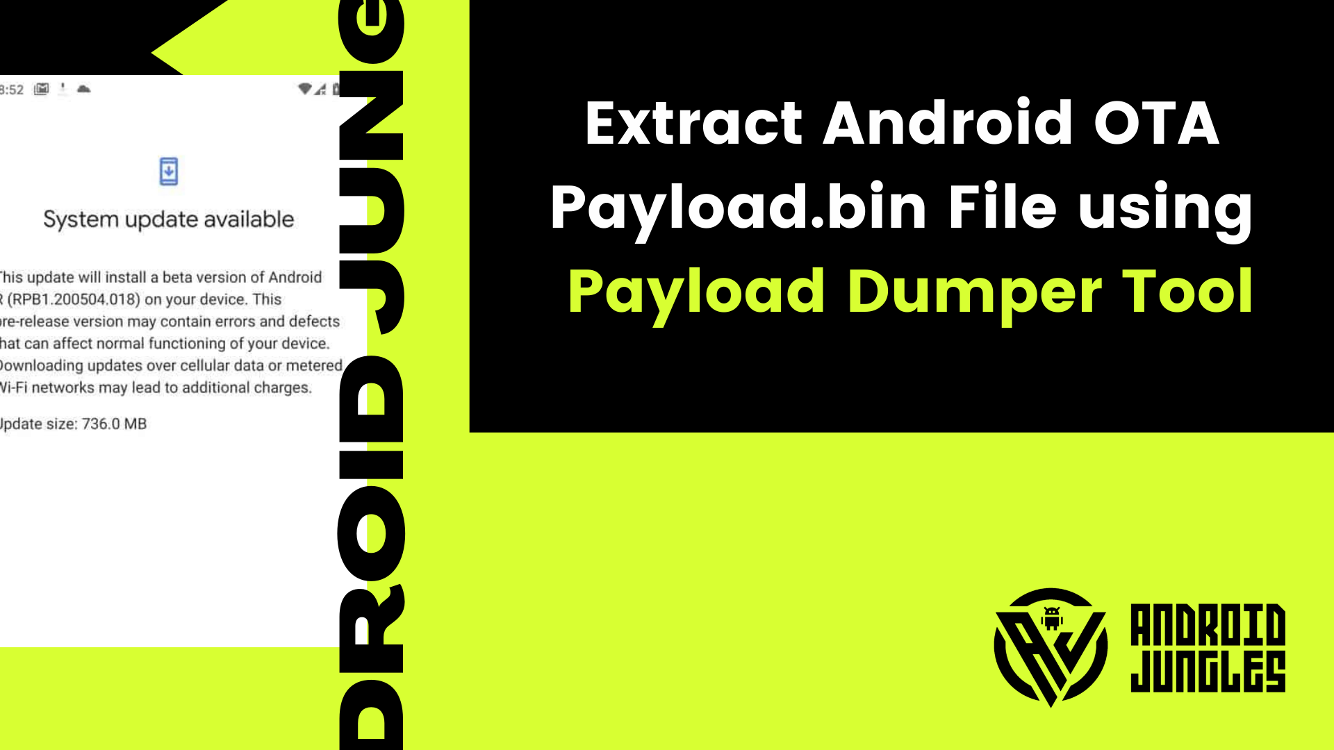 How to Extract Android OTA Payload.bin File using Payload Dumper Tool