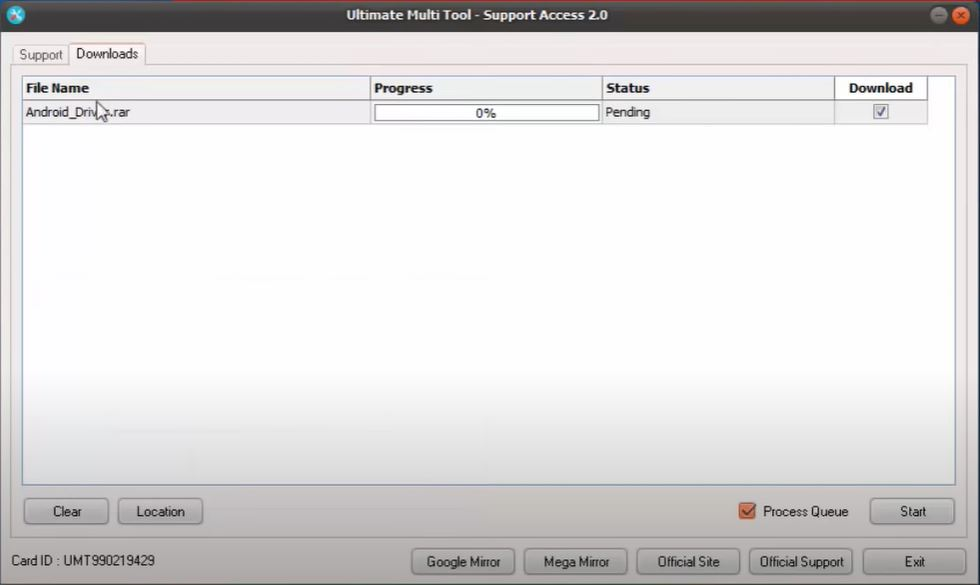 download-umt-support-access-file