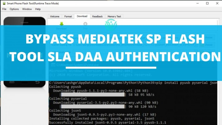 Bypass MediaTek SP Flash Tool SLA DAA Authentication
