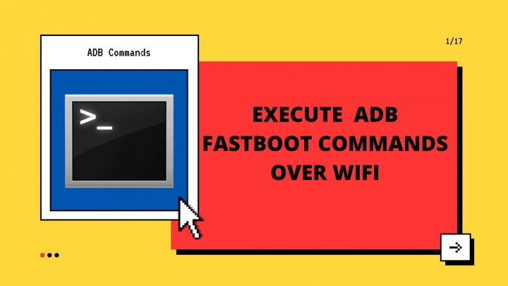 Execute Android ADB Fastboot Commands Over WIFI