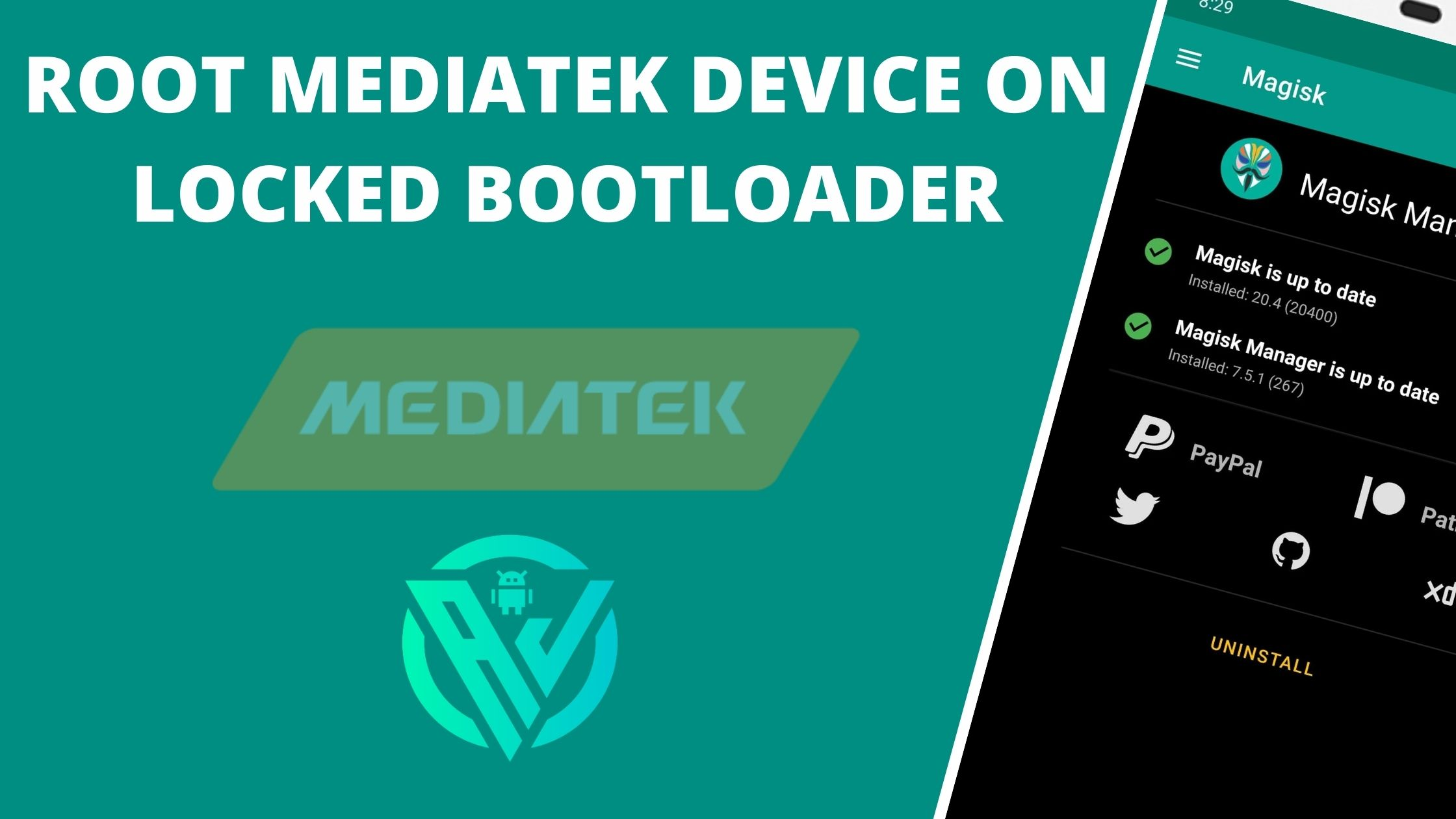 Root MediaTek Device on Locked Bootloader