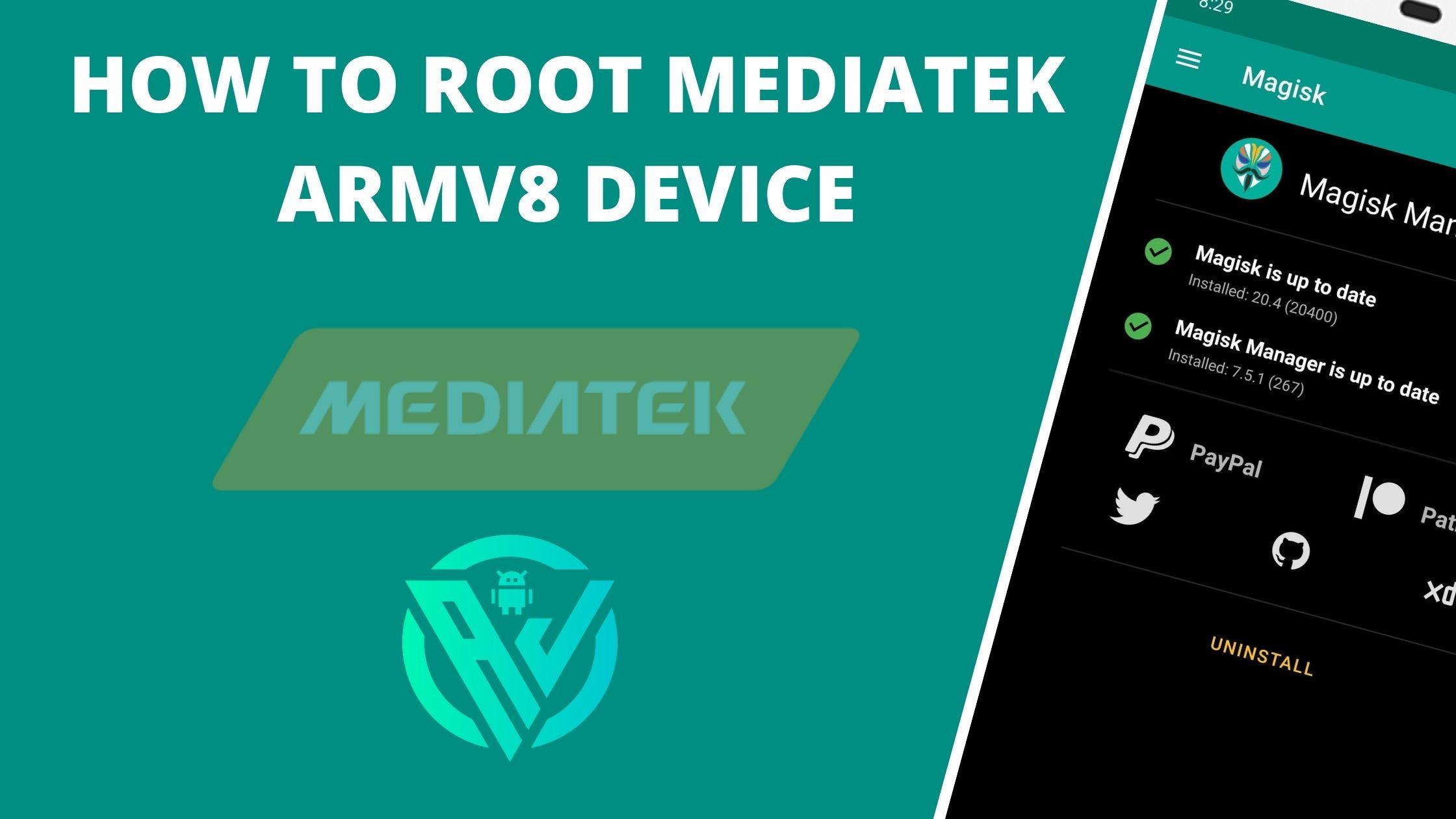 root mediatek armv8 device