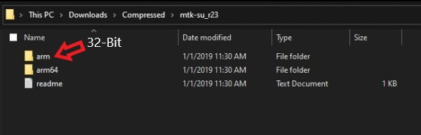 root mediatek su binary ARMv8