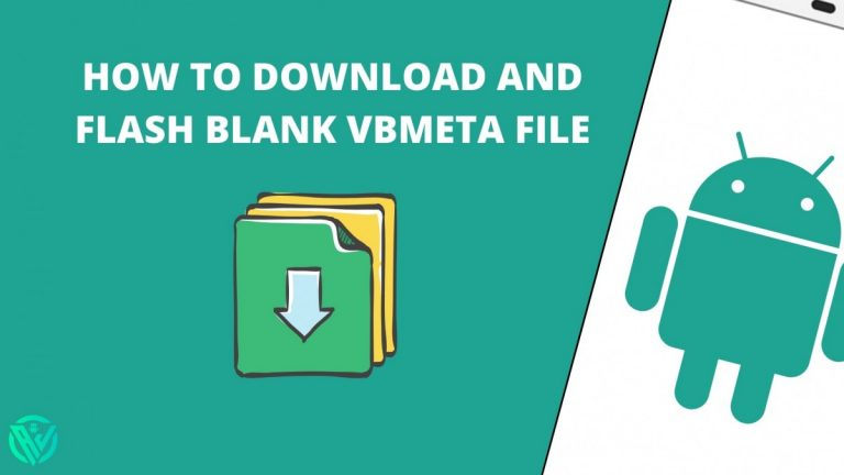 How to Download and Flash Blank vbmeta file