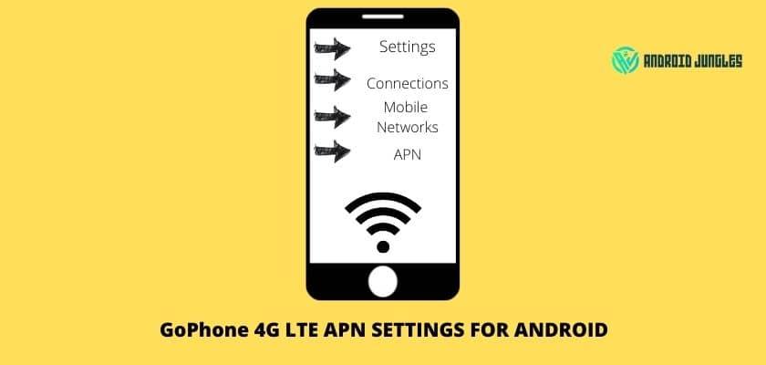 GoPhone 4G LTE APN settings for Android