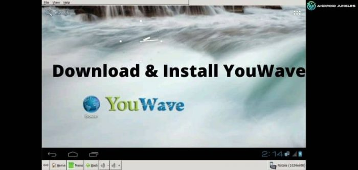 Download & Install YouWave